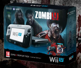 Wii U 32GB ZombiU Premium Pack Black