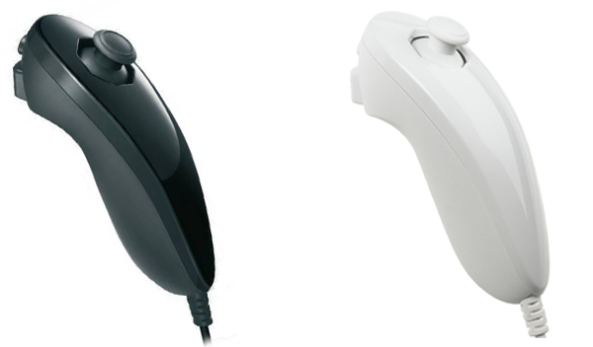 Official Nintendo Wii U Nunchuk available in Black and White